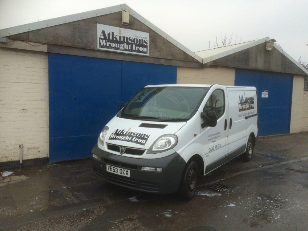 Atkinsons Wrought Iron Van