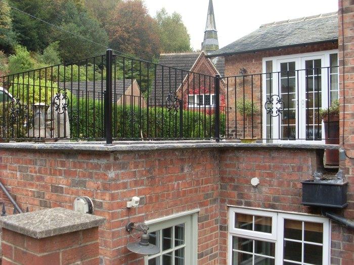 Wrought Iron Railings | Balcony Railings Redcar ...