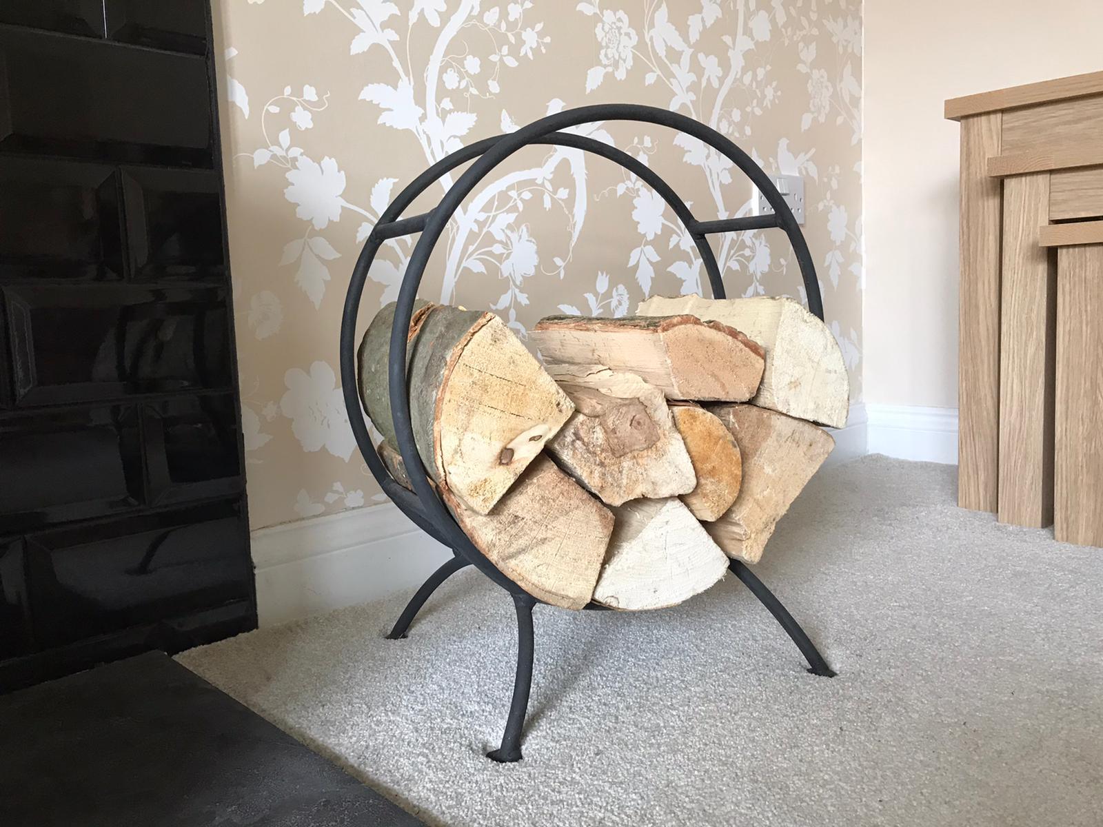 Wrought Iron Log Burner